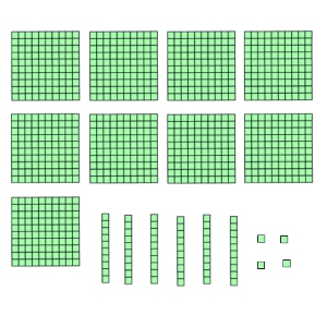 hundreds tens and ones interactive mad maths. Black Bedroom Furniture Sets. Home Design Ideas